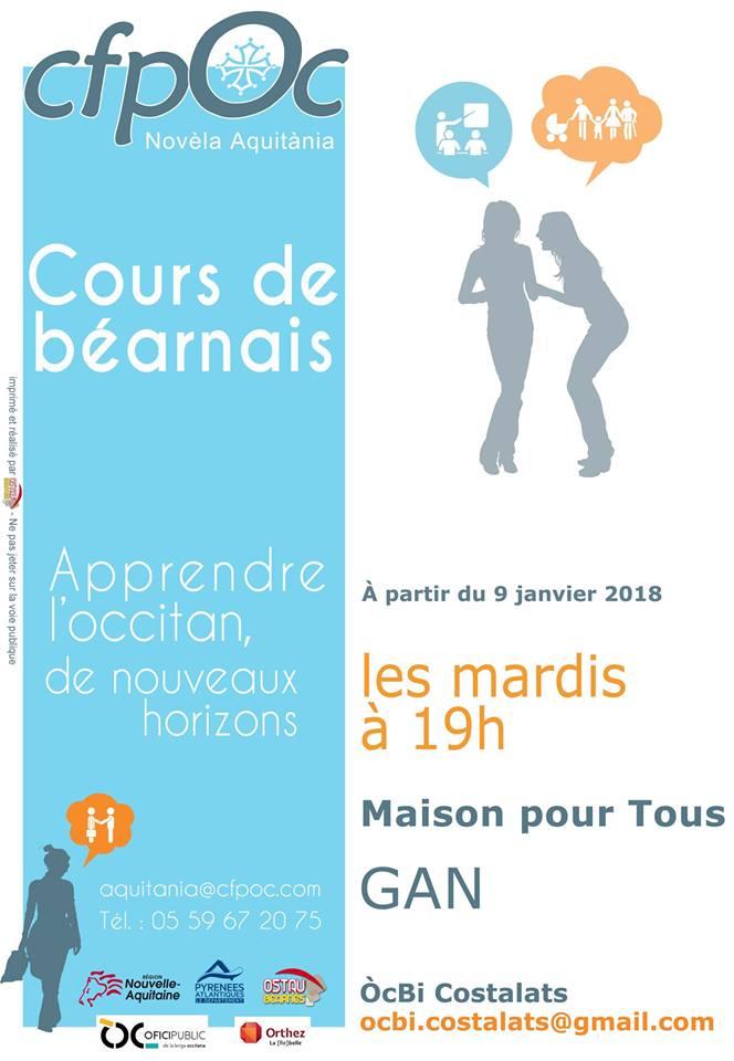 Cours Gan occitan 2018